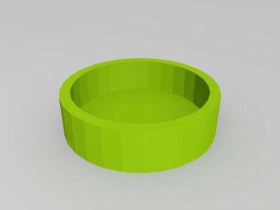 山狗镜头保护盖-3d打印模型