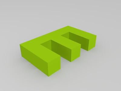 E-3d打印模型