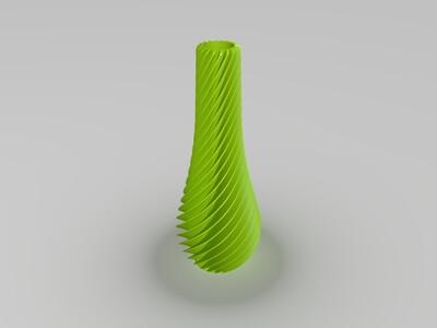 创意花瓶-3d打印模型