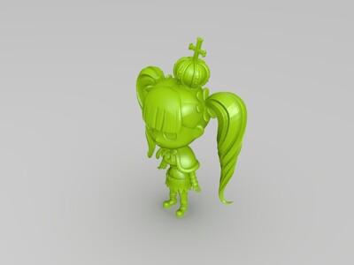 海贼王幽灵公主--佩罗娜-3d打印模型