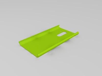 华为荣耀6x手机壳-3d打印模型