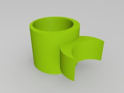 鱼竿支架-3d打印模型