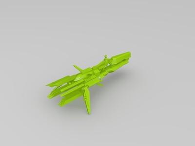 战列舰-3d打印模型