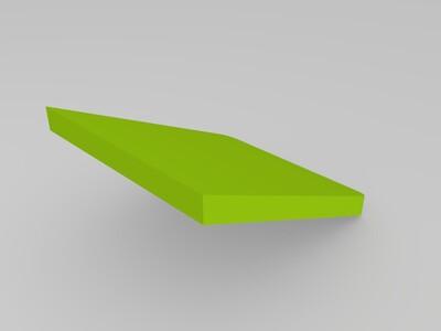 可调节支座-3d打印模型
