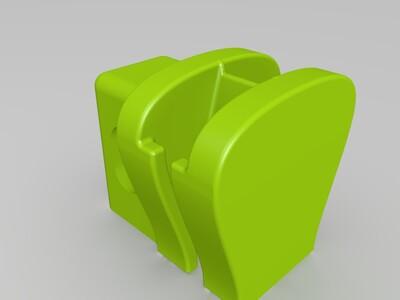 实用拉链扣-3d打印模型
