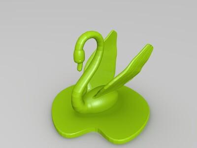 天鹅-3d打印模型