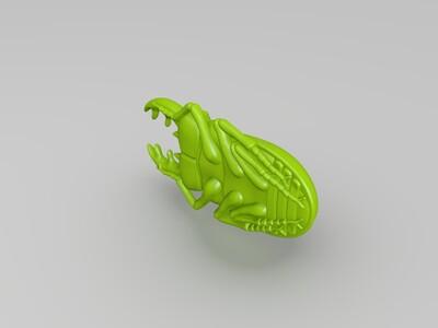 甲壳虫-3d打印模型