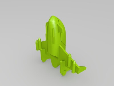 小型宇宙飞船-3d打印模型