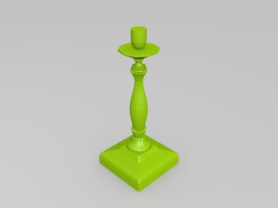 台灯灯座-3d打印模型