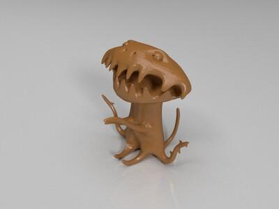 外星小狗-3d打印模型
