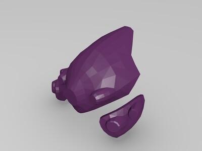 黑百合的头盔 守望先锋-3d打印模型