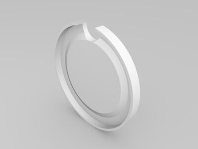 水杯盖子-3d打印模型