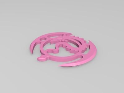 龙镖-3d打印模型
