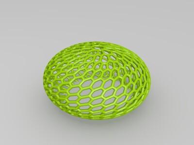 镂空的灯罩-3d打印模型