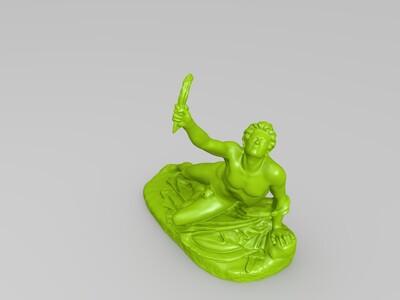 胜利的士兵-3d打印模型