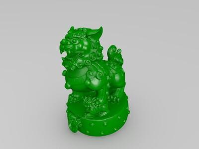 母狮子-3d打印模型