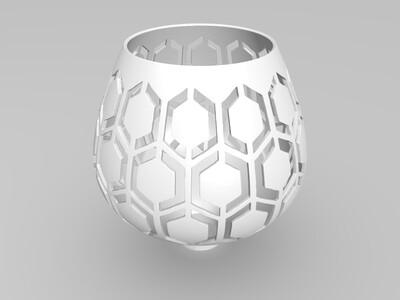 优雅灯罩-3d打印模型