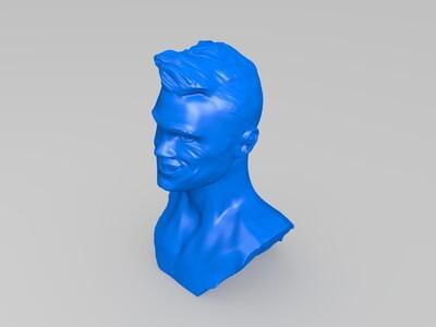 C罗-铜像(哈哈哈哈哈哈哈哈哈哈哈哈哈)-3d打印模型
