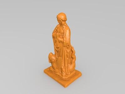 圣玛格丽特-3d打印模型