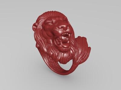 狮子王指环-3d打印模型