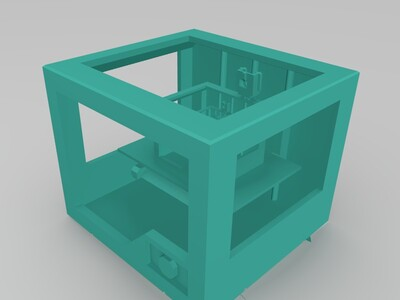 3D打印机-3d打印模型