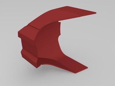钢铁侠头盔加厚版-3d打印模型