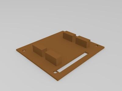 拼装活动骷髅人-3d打印模型