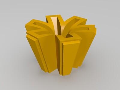 光棱塔-3d打印模型