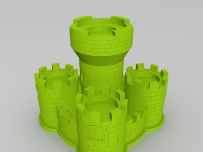 马力欧城堡-3d打印模型