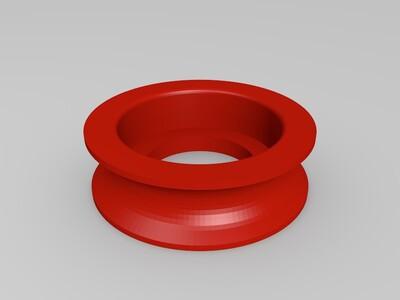 滑轮式线轴架-3d打印模型