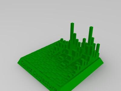 考拉兹猜想塔-3d打印模型