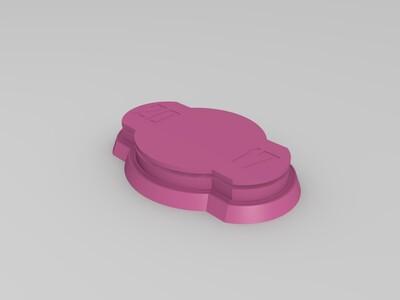 篮球奖杯-3d打印模型
