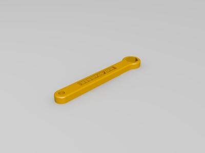喷嘴六角扳手-3d打印模型