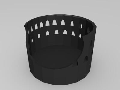 地标建筑-3d打印模型