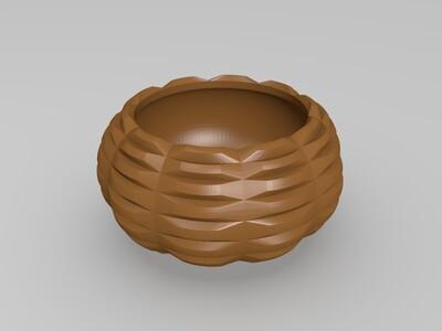 植栽瓶-3d打印模型