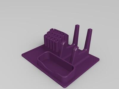 桌面摆放盒,办公盒-3d打印模型