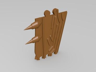 符号2-3d打印模型