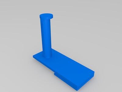 Finder 3D耗材外置支架-3d打印模型