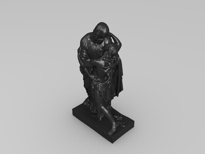 重逢-3d打印模型