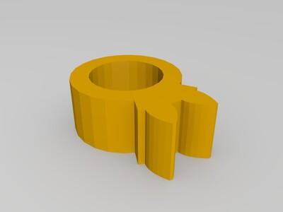 自己组装的简易打印机-3d打印模型