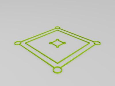 平台水平调整-3d打印模型
