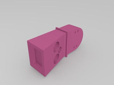 南极望远镜-3d打印模型