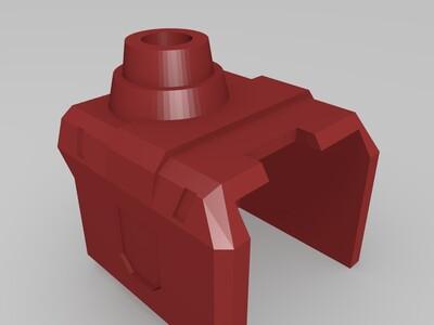 G1 Q版超神擎天柱 可变形-3d打印模型