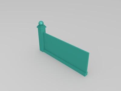 围墙-3d打印模型