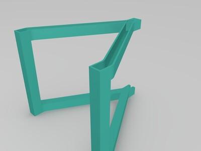 线轴架-3d打印模型