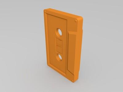 迷你磁带-3d打印模型