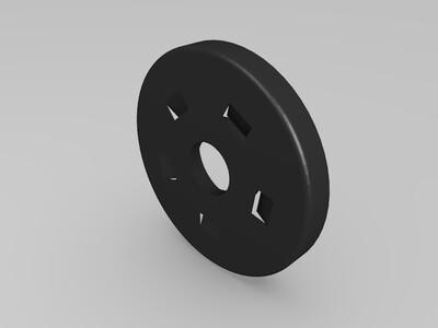 喷气发动机模型-3d打印模型