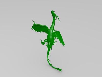 飞龙-3d打印模型