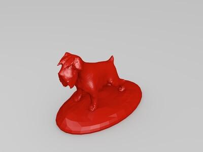 雪纳瑞-3d打印模型