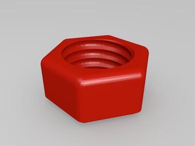 螺絲怎組合-3d打印模型